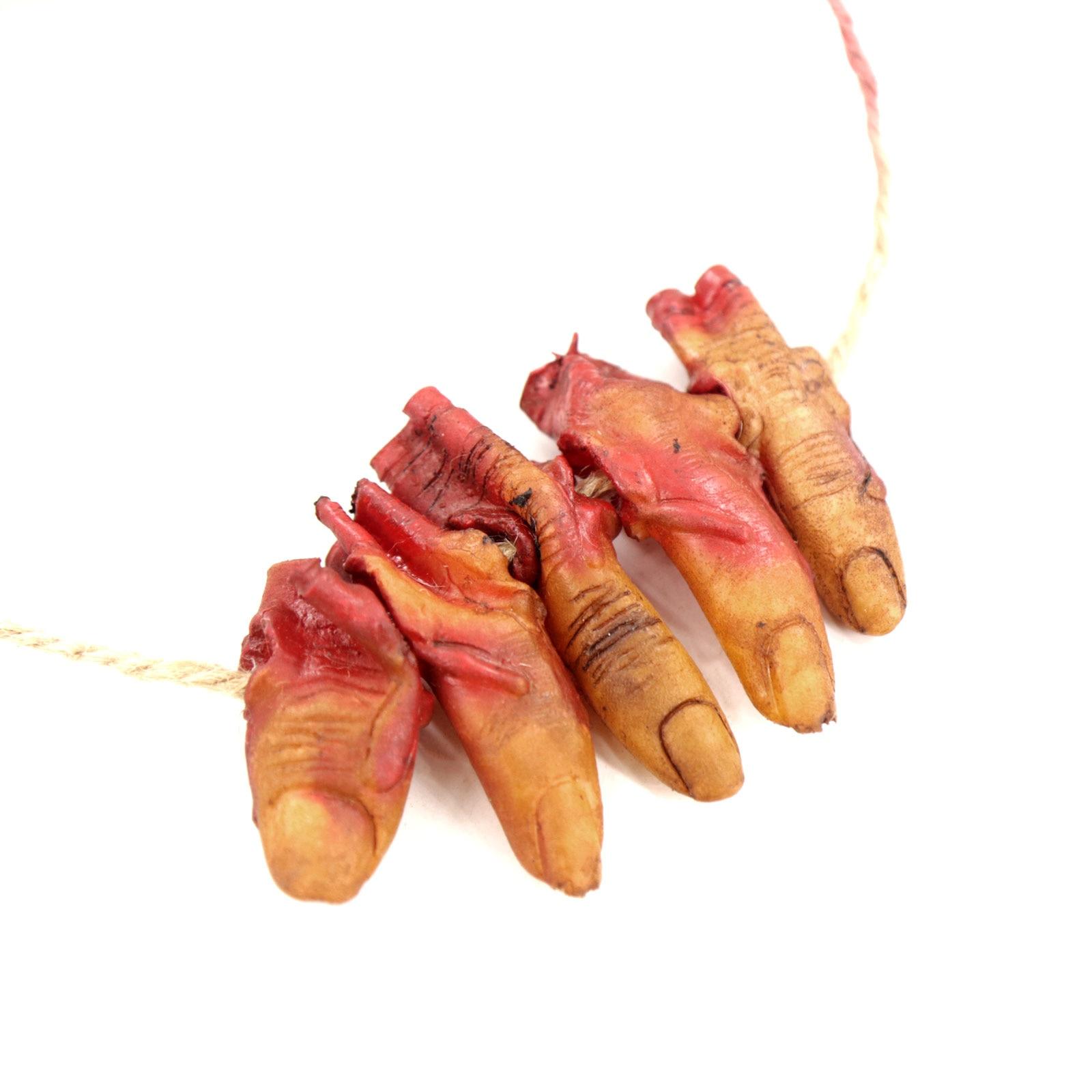 Image 3 - Halloween Decoration Props Horror Realistic Broken Hand Broken Chain Hanging Chain Props Eyeball Broken Hand Party Supplies-in Party DIY Decorations from Home & Garden