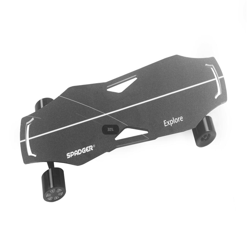 EU Warehouse SPADGEER X6 Electric Skateboard Wireless Bluetooth Remote Control Roller Skate Board 100KG Load Electric Skateboard