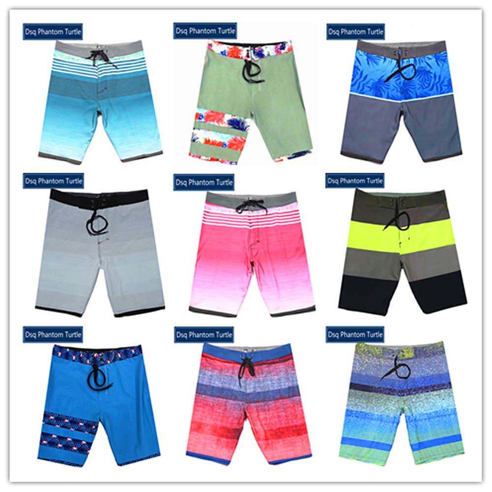 Spring Summer Sexy Swimwear 2020 Classic Brand Dsq Phantom Turtle Beach Board Shorts Men Elastic Polyester Spandex Swimtrunks