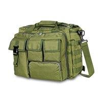 Mochila militar táctica Molle de nailon, bandolera mensajero, bolso para portátil, maletín para exteriores, bolsa de escalada multifunción