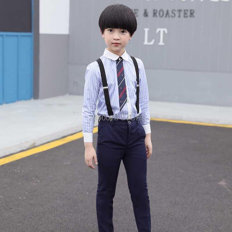 Baby Girls Boys School Uniforms Sets With Bow Tie Cotton T shirt +Half  Strap Pants Tutu Skirt Set Boy Performing Suit |set boy|baby girls  boysschool uniform boy - AliExpress