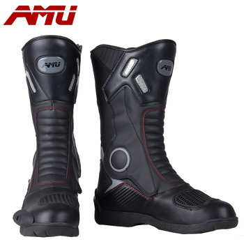 Motocross Riding boots Motorcycle protective long boot Reflective gear racing Cycling boot