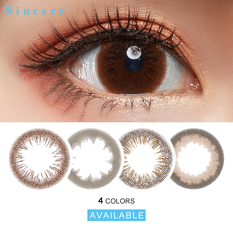 Sincere Vision Brand FAIRY 1day Romantic Eye Color Lens Colored Contact Lenses For Eyes 6lenses Day Throw 14.2mm