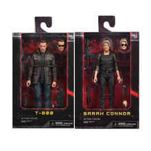 New NECA Terminator T-800 Dark Fate Sarah Connor Action Figure Collectible Model Toy Gift 18cm neca the terminator 2 action figure t 800 endoskeleton classic figure toy 7 18cm