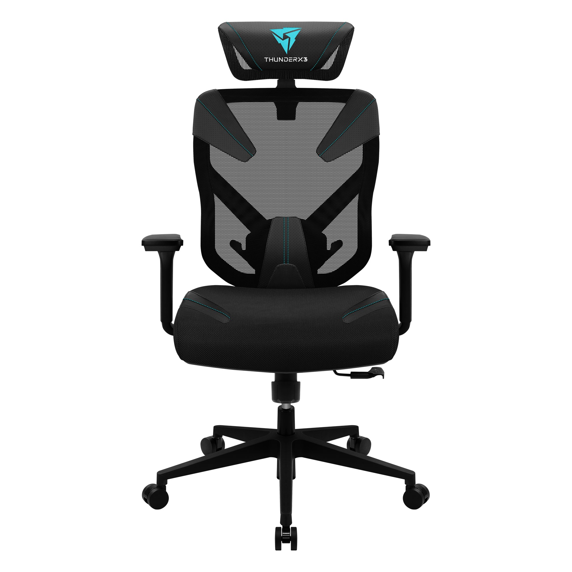 ThunderX3 Yama 3, Gaming Chair, Technology AIR, Fully Adjustable, Cyan
