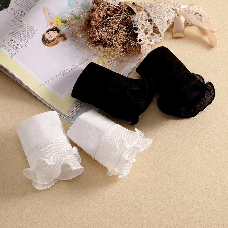Fashion Apparel Accessories Spring Arm Warmers Women Fake Arm Sleeves Organ Cuff Pleated Horn Cuffs Wholesale