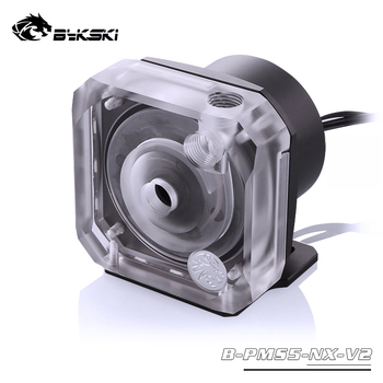 Bykski PWM Automatic Speed Control Pump Water Cooling System Maximum Flow 1100L/H Compatible D5 Pump 5 Colors Cover B-PMS5-NX