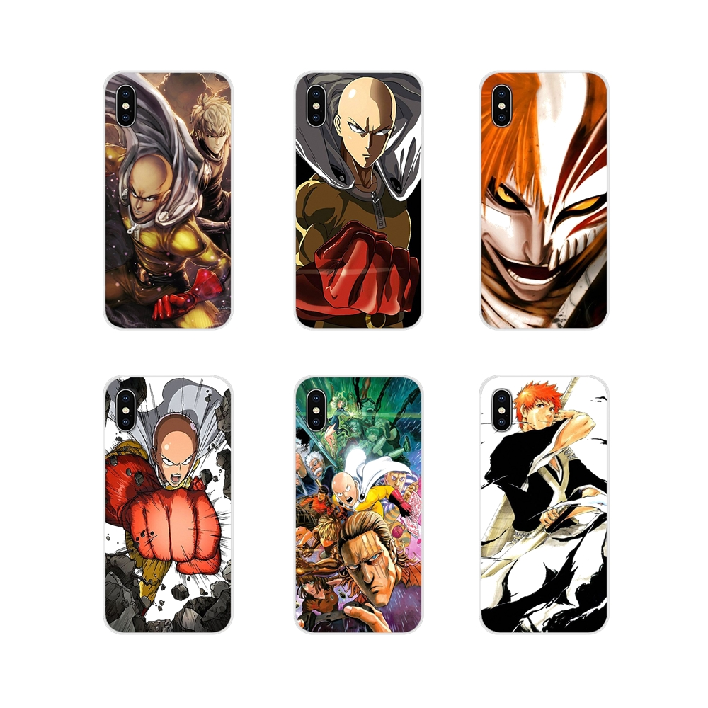 For Oneplus <font><b>3T</b></font> 5T 6T Nokia 2 3 5 6 8 9 230 3310 2.1 3.1 5.1 7 <font><b>Plus</b></font> 2017 2018 <font><b>Anime</b></font> Bleach <font><b>One</b></font> Punch Man Mobile Phone Shell Cover image