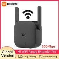 Xiaomi-repetidor WiFi Range Extender Pro, amplificador de señal Wifi, 300Mbps 2,4Ghz, enrutador inalámbrico, Versión global