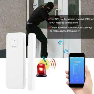 Image 4 - 1 סט WiFi דלת חלון חיישן חכם מעורר חיישן אין רכזת הנדרש נטענת עבור IFTTT/Alexa/Google בית מערכת