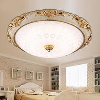 Led 現代アクリルラウンドガラスシェードのシーリングライト照明器具ヨーロッパランプリビングルームベッドルームキッチン表面実装