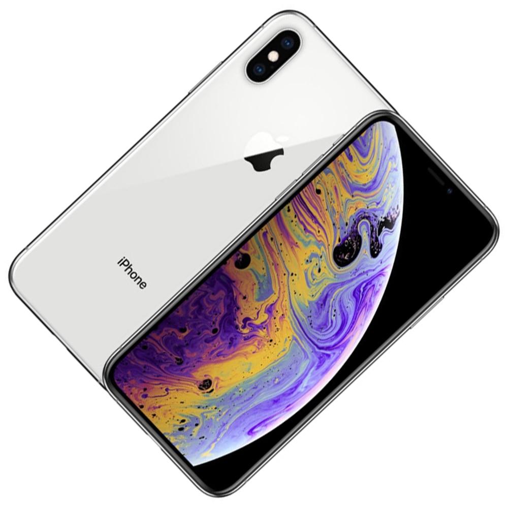Разблокированный оригинальный Apple iPhone XS, 5,8 дюйма, с функцией распознавания лица, качественный бионический чип IOS12, 4 Гб ОЗУ, 64 ГБ/256 Гб ПЗУ, сма...