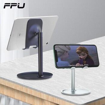 FPU حامل هاتف حامل الهاتف الذكي المحمول دعم اللوحي حامل آيفون مكتب حامل الهاتف الخليوي حامل المحمولة قوس المحمول 1