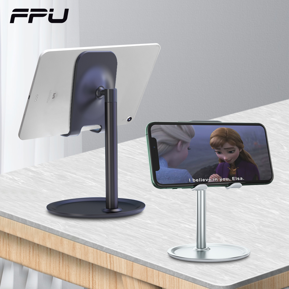 FPU Phone Holder Stand Mobile Smartphone Support Tablet Stand For IPhone Desk Cell Phone Holder Stand Portable Mobile Bracket
