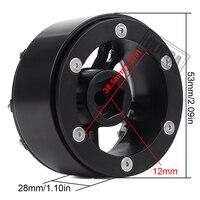 "INJORA 4PCS 171g/pcs Heavy RC Rock Crawler Metal 1.9"" BEADLOCK Wheel Rim for 1/10 Axial SCX10 90046 90047 D90 4"