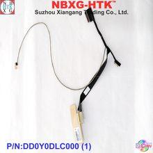 Novo original para hp x360 spectre 13 13t-4100 13-4000 13-4133nf led lcd lvds cabo dd0y0dlc000 dd0y0dlc010 30pin