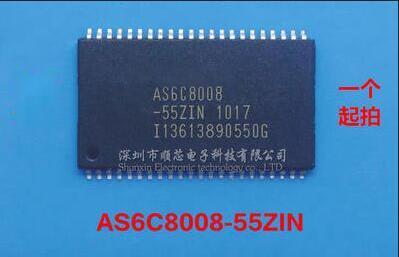 送料無料 2 個 AS6C8008 55ZIN AS6C8008 TSOP 44