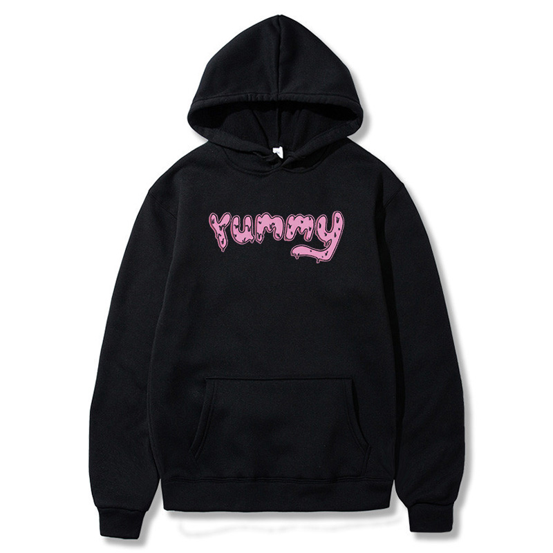 Justin Bieber Hoodies Yummy Pink Men Women Hiphop Smile Cute Sweater Shirt