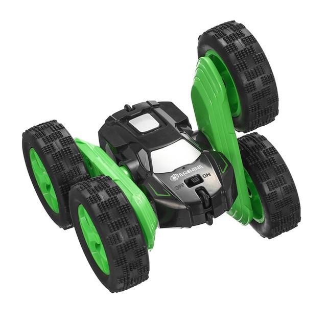 Eachine EC02 RC Car 2.4G 4WD Stunt Drift Deformation Buggy Roll Car 360 Degree Flip Robot Vehicle Models High Speed Rock Crawler 2