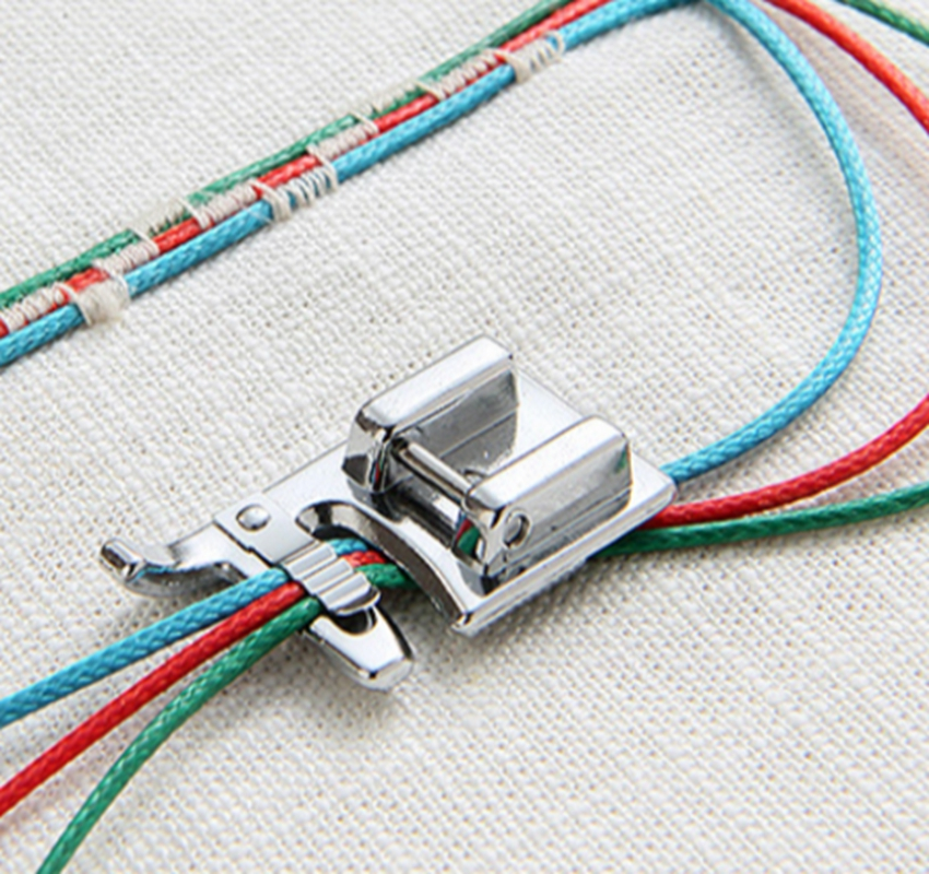 Domestic sewing machine parts presser foot 7309(5011-13) / Cording Foot