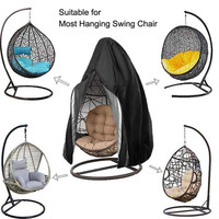 Indoor hanging swing balcony egg chair cover with zipper outdoor garden waterproof outdoor садовые качели chair Only Cover