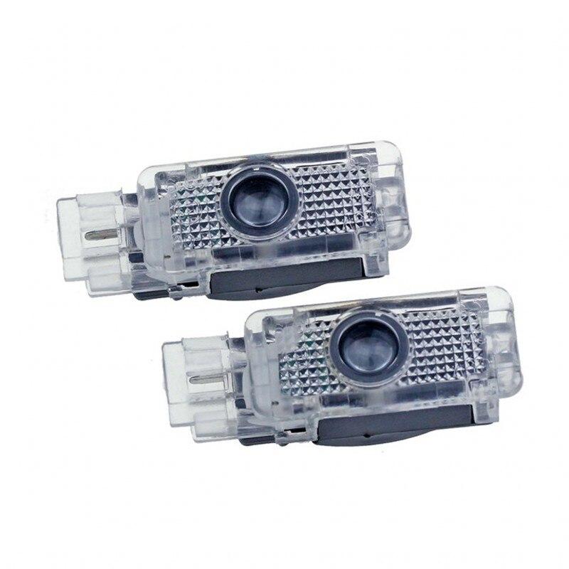 2X Led Car Door Welcome Light Logo Projector Laser Lamp For Mercedes Benz W203 C Class 2001-2007 SLK CLK SLR R171 R199 W209 W240