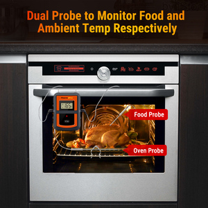 Image 5 - ThermoPro TP 08S Wireless Remote Thermometer From 300 Feet Away Food Kitchen BBQ Smoker Grill Oven