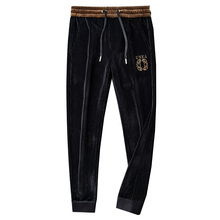 Trousers Winter Corduroy Men's Casual Warm Autumn Light Loose Gold-Waist And Luxury