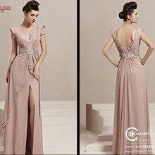 Новая мода, vestido de festa longo robe de soiree, кружевные Элегантные вечерние платья с рукавами-крылышками, платья для матери невесты