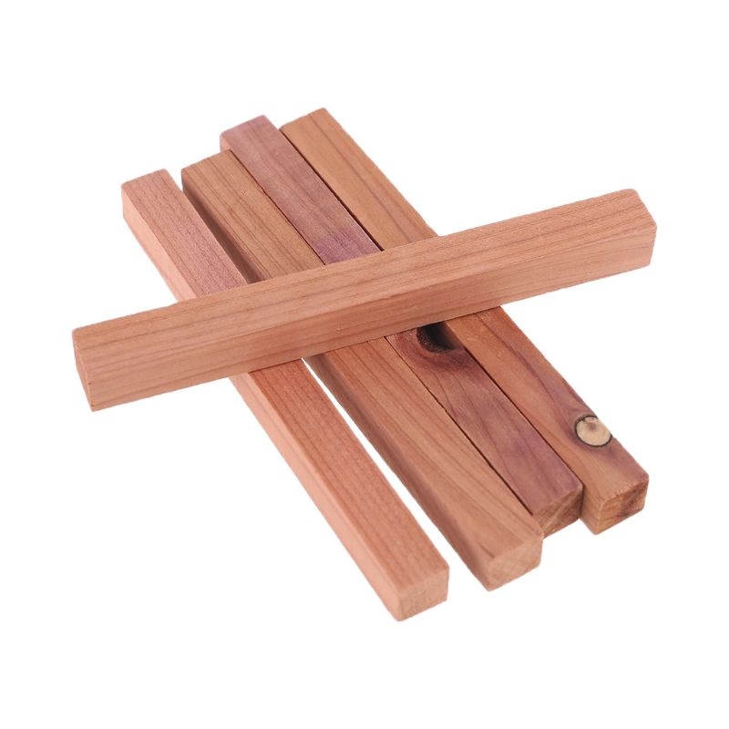 12PCS Pine Wooden Chips Cedar Wooden Wardrobe Insect Repellent Mothproof Chips
