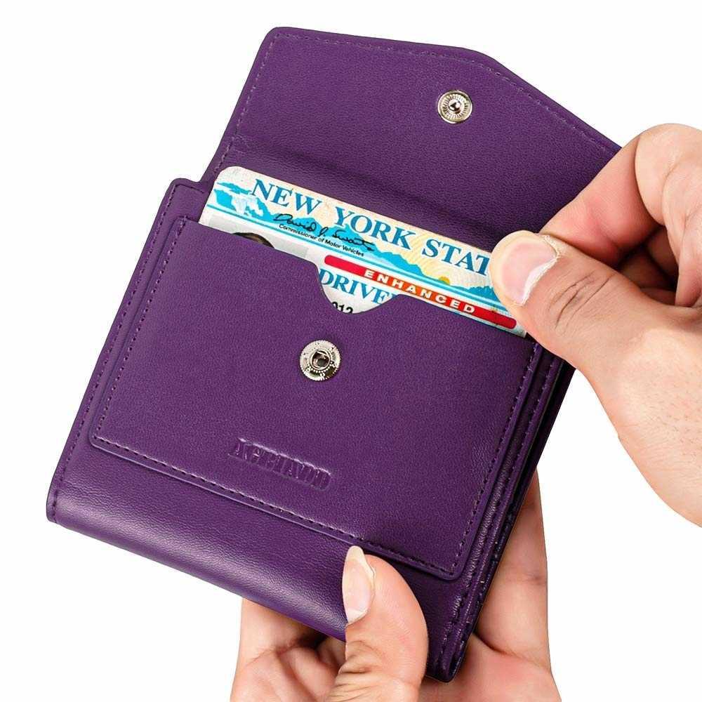 Kadın cüzdan çantalar para çanta kart tutucu Pu deri küçük deri cüzdan kadınlar için
