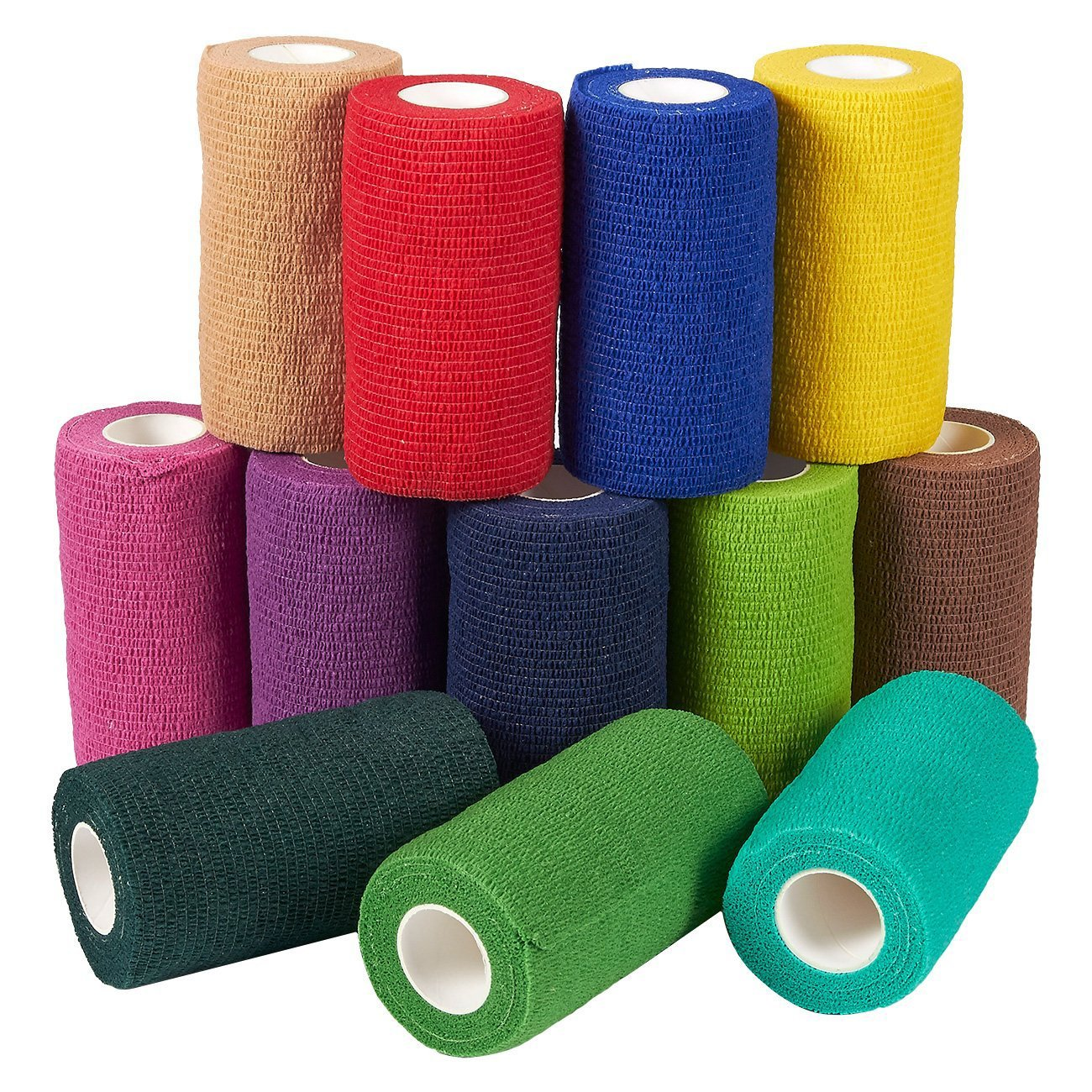 Sport Waterproof Medical Therapy Self Adhesive Bandage Muscle Tape Finger Joints Wrap First Aid Kit Pet Elastic Bandage