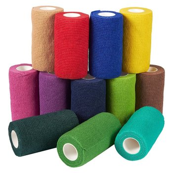 Sport Waterproof Medical Therapy Self Adhesive Bandage Muscle Tape Finger Joints Wrap First Aid Kit Pet Elastic - discount item  30% OFF First Aid Kits