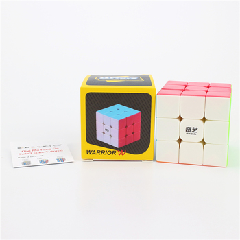 QiYi Warrior W 3x3x3 Profissional Magic Cube S Sail cubo magico Competition Puzzle Cubes Toys For kids