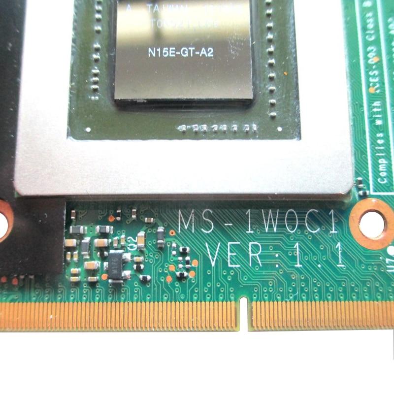 וידאו כרטיס גרפי GTX870M GTX 870M 3GB N15E-GT-A2 וידאו כרטיס גרפי עבור MSI 16F3 16F4 1762 1763 GT70 GT60 GX660 GT660 GX680 GT683DX GX780DX GT783 (3)