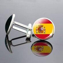 цена на UK Flag Cufflinks Europe Country National Flag France Italy Spain Poland.Netherlands Russia Flag Men Wedding Cufflinks