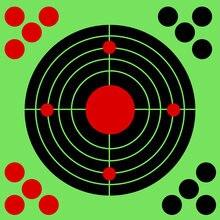 100/50/10 шт самоклеящиеся бумажные наклейки для стрельбы
