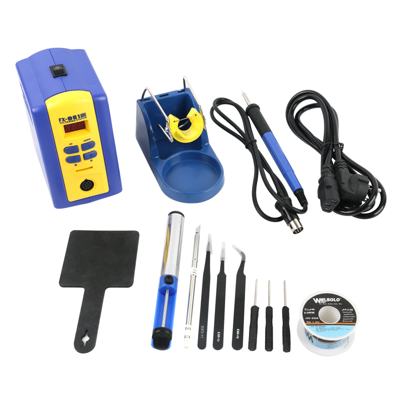 FX 951 Adjustable thermostat digital display Soldering Station 75W 110V 220V T12 Soldering Iron Tips Soldering