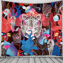Witchcraft Tapestry Boho-Decor Wall-Hanging Macrame Mandala