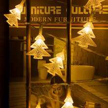 Светодиодные лампочки звездочки гирлянды в форме рождественской