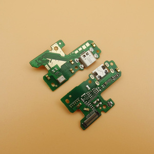 Image 1 - 10pcs/lot USB Charger Board Charging Dock Port Connector Flex Cable Microphone Module For Huawei P9 lite 2017 PRA LX3