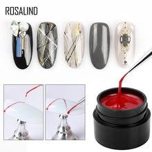 ROSALIND örümcek jel tırnak jeli lehçe cila manikür tırnak sanat seti çizgi çizim tırnak dekorasyon gerek taban pardösü Gellak