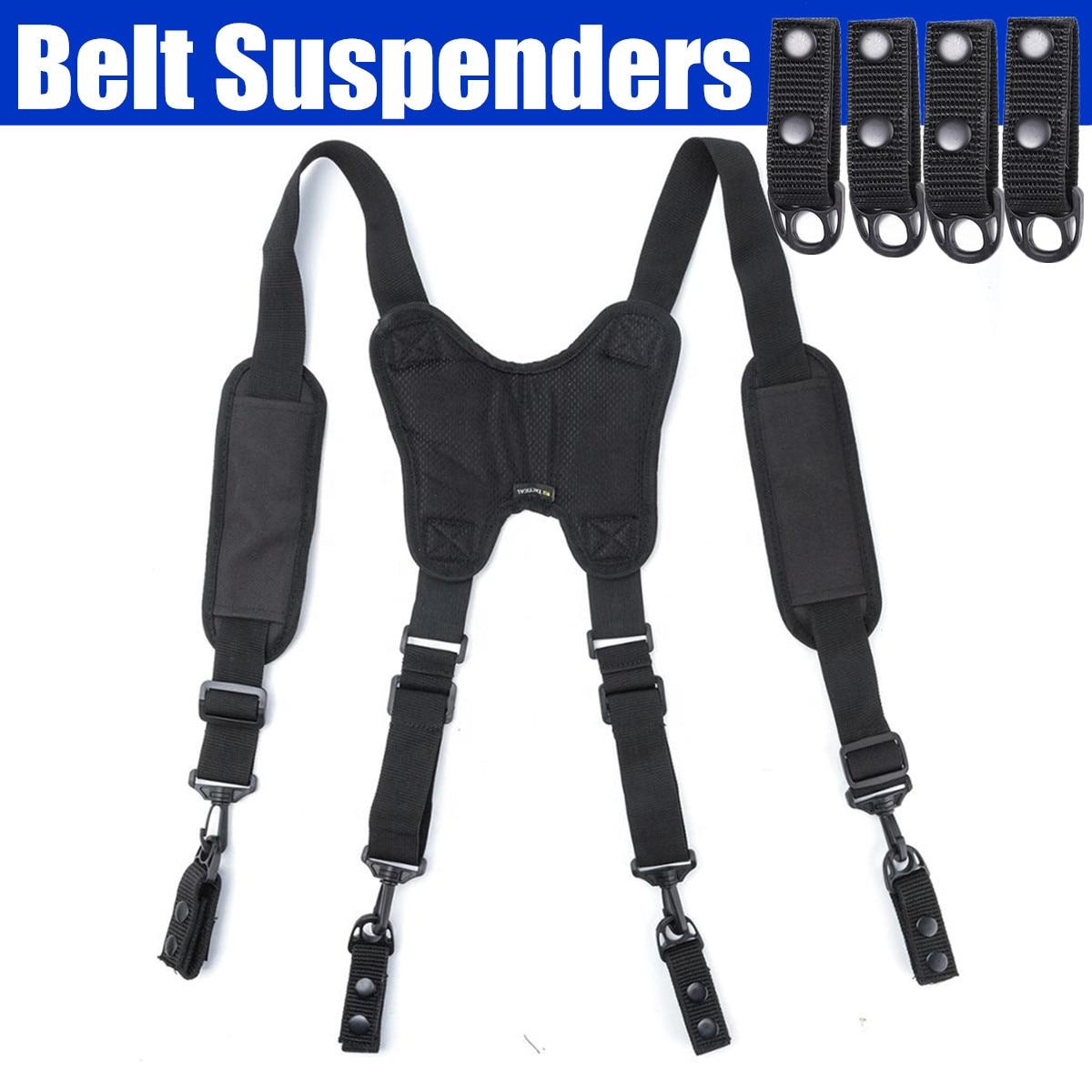 2020 NEW Men Tooling Belt Suspenders Strap To Reduce Waist Weight X Shaped With Suspenders Loop Men's Suspenders Adjustable