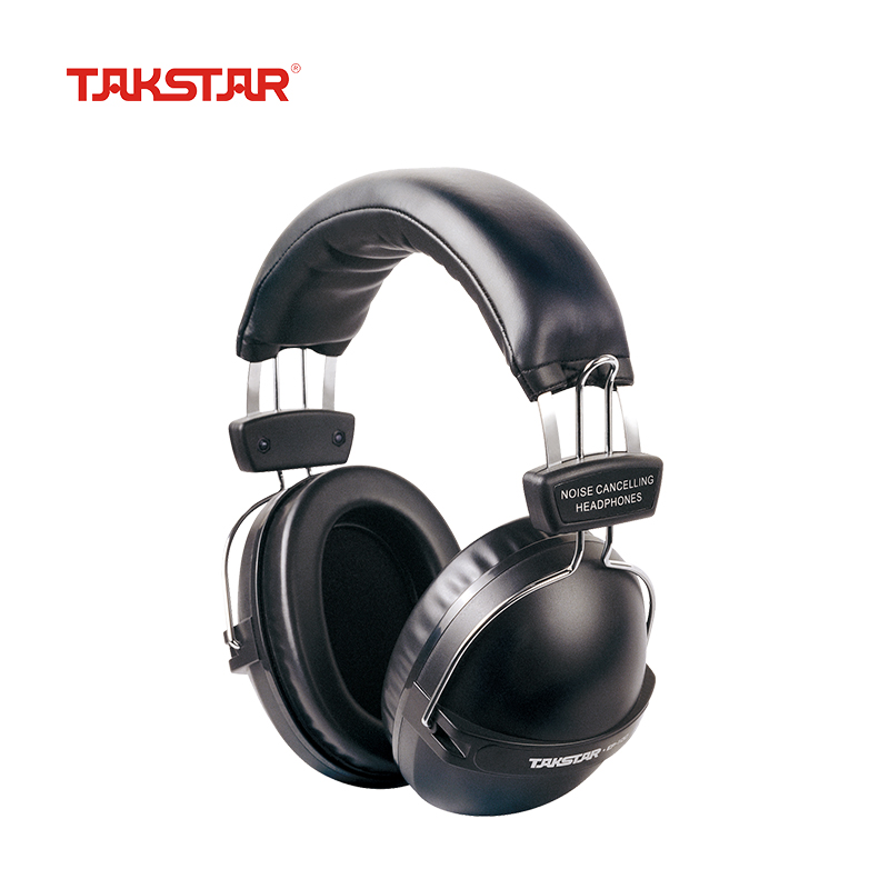 Takstar EP-100 Closed Dynamic Stereo Noise Lsolating Headset Studio DJ Monitoring HIFI Headphone for Shooting factory airport image