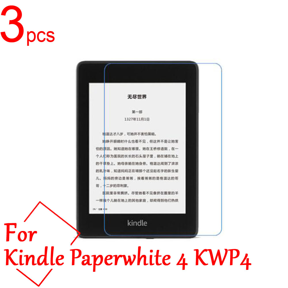 3pcs Ultra Clear/Matte/Nano Anti-Explosion LCD Screen Protector Cover For Amazon Kindle Paperwhite 1/2/3/4 KWP Protective Film
