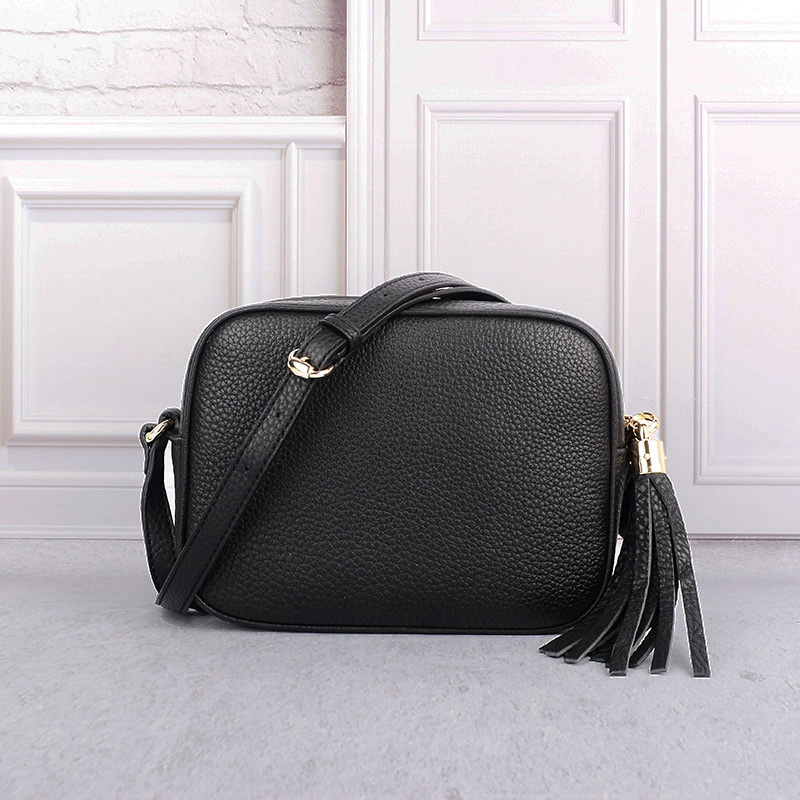 Women Luxury genuine leather Gucci disco bag look alike bag