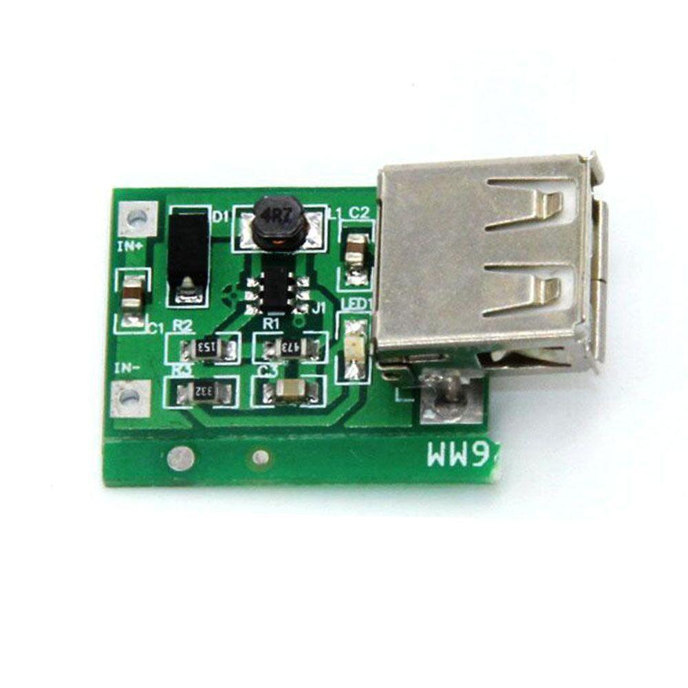 0.9 V ~ 5 V 600ma Caricabatterie Usb Output Mini Dc-dc Boost Converter + Tp4056 1a Lipo Batteria Al Litio Caricabatterie Modulo