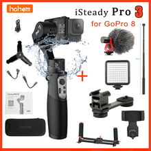 Hohem iSteady Pro 3 3 Axis Handheld Gimbal Waterproof  IPX4 Action Camera Gimbal Stabilizer for GoPro Hero 8/7/6/5/4 RXO SJCAM