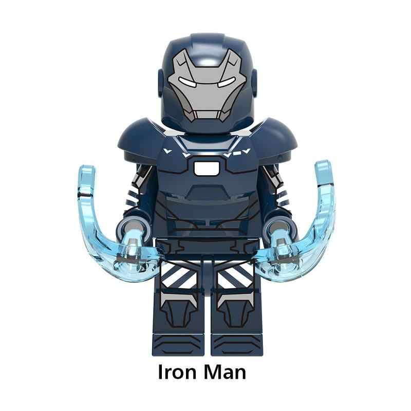 1 pçs homem de ferro salão de armadura vingadores super herói compatível legoinglys figuras blocos de construção tijolos conjunto modelo brinquedos para crianças
