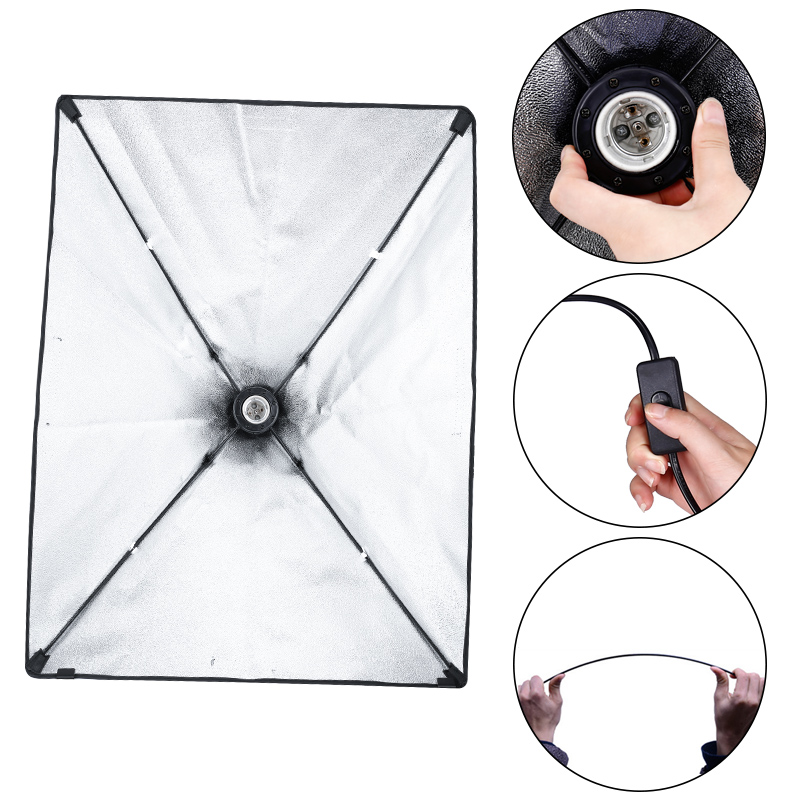 Image 4 - Kit professionnel déquipement déclairage de photographie avec le support mou de fond de parapluie de Softbox avec le Studio de Photo de lumière de bras de boom-in Accessoires pour studio photo from Electronique on AliExpress